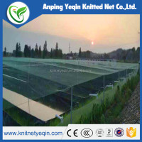 HDPE high quality sun shade net for protecting crops in green house