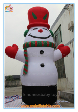 New design lovely inflatable snowman for advertising,giant inflatable christmas snowman model for sale