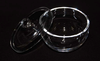 Industry and laboratory Clear/Transparent quartz crucible