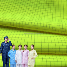 Polyester Anti-static Fabric for Cleanroom Clothing Multifunctional ESD Lad Coat Cloth