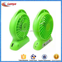 4 inch Usb Mimi Portable Battery Rechargeable fan for travel