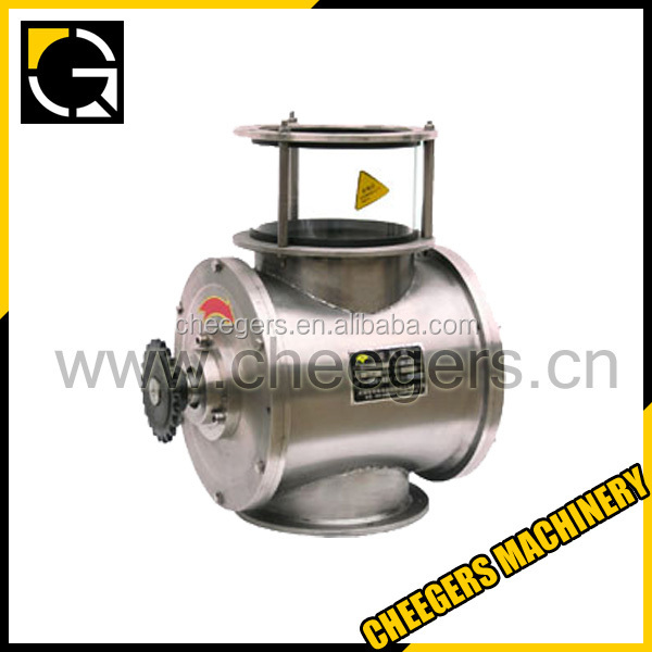 round and square outlet/inlet rotary valve,rotary feeder/Pneumatic conveying rotary valve