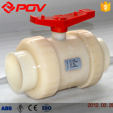 Water level control Handle PVDF ball valve