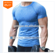 2016 custom wholesale fitness plain mens t shirt wholesale gym wear for men