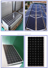 170w monocrystalline solar panel ooi solar panel production line