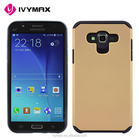 IVYMAX exec tough slim fit hybrid pc+tpu armor cover case for samsung galaxy J7(T-Mobile, MetroPCS, Virgin Mobile, Boost Mobile)
