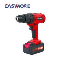 18V 1500mAh Li-ion 13mm cordless drill Li-ion battery two speed drilling machine