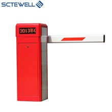 Outdoor Automatic Boom Gate Barrier Vehicle Access Control Parking Lot Barrier