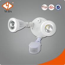 Adjustable Time & Lux & Distance Wireless Waterproof Exterior pir sensor led down light