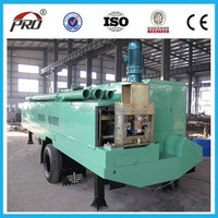 standing seam metal roof angle iron bending roll forming machine
