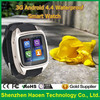 Wholesale 3G Celulares Android 4.4 Waterproof Smart Watch With Dual Core 5.0Mp Camera GPS Navigation Lady Wrist Watch