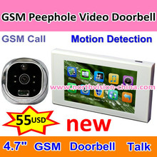 Auto call smart home,PIR camera viewer,video door monitor
