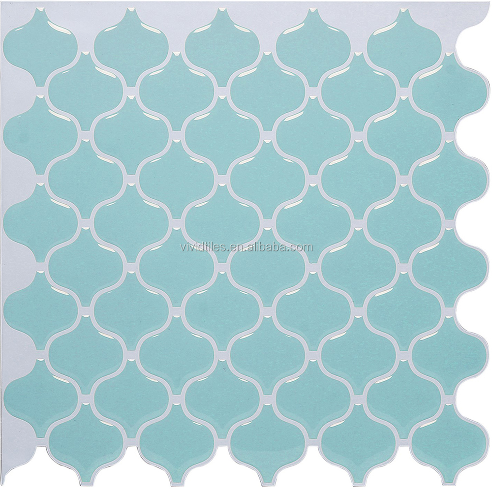 Hardware Home Fashion Easy DIY Peel & Stick Tile Sticker for Kitchen Bath Backsplash