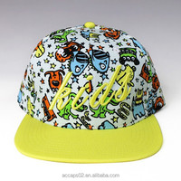 custom made baby hat snapback cap