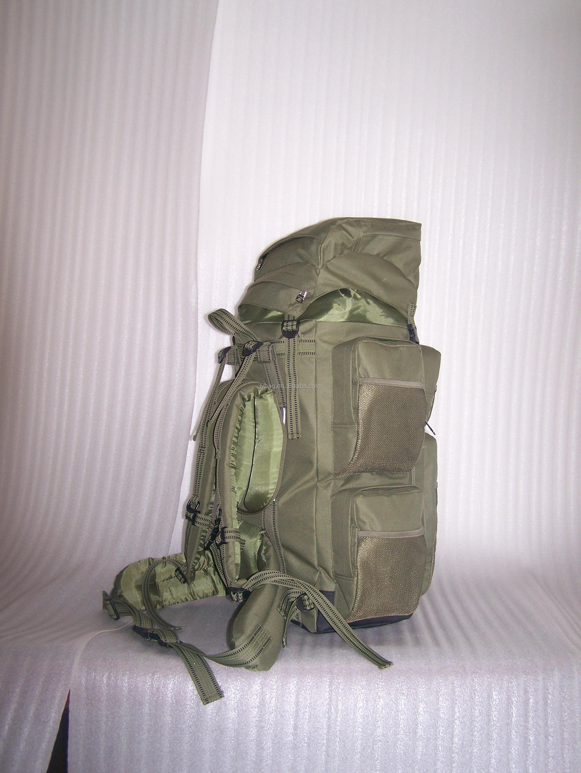 green color carp fishing backpack