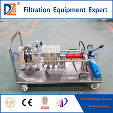 Membrane Filter Press 250 Series for Testing Filtration
