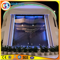 Indoor Water Curtain Fountains Led Fiber Curtain