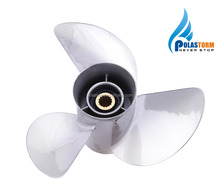 3 Blade Stainless Steel Boat Outboard Propeller For Yamaha Engine 50-130HP