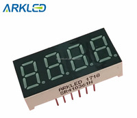 0.36 inch 4 digits seven segment LED display for electronic machine