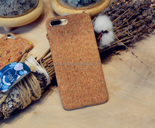 high quality cork wood cell phone case,factory price mobile phone accessories,2017