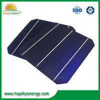 "19%-19.8% 4.5w-4.73w wholesale prices for 6"" inch efficiency 3BB Mono Solar Cell made in Taiwan"