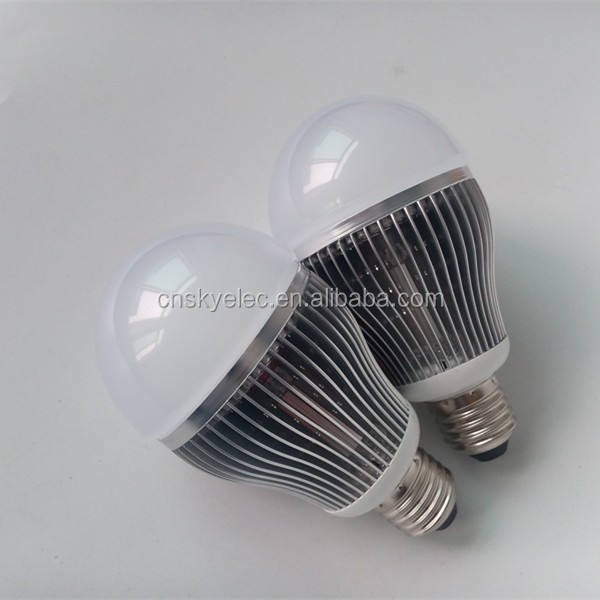 9W LED bulb E27 led light bulb aluminum Fin Bulb 9W E27 LED Light