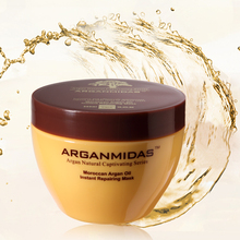 Professional hair cream type sulfate free argan oil hair mask