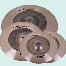 Top drummer's gears Arborea Ghost Cymbal set up