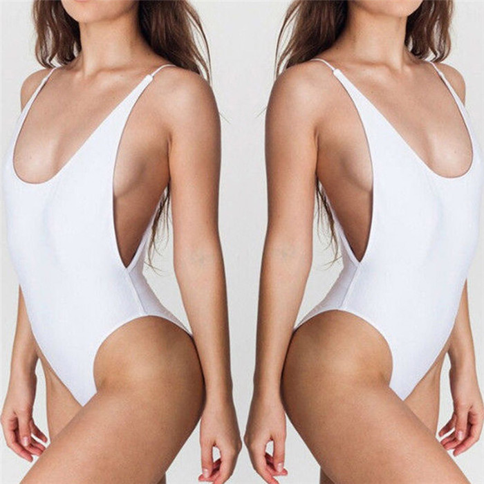 White Teenage Girls Women Sexy Swimwear One Piece Swimsuit Female Swimming Suits Bathing Suit Swim Wear Swimsuits for Women
