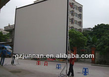 300 inch large quick fold projector screen for outdoor show