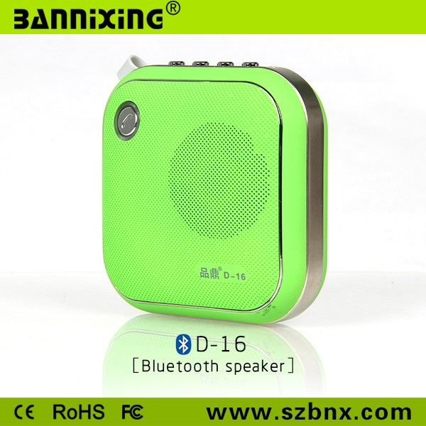 New product portable outdoor bluetooth speaker for young people