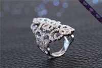 JR0175-High Quality diamond ring 925 Sterling Silver Zircon Ring Special Gold ring