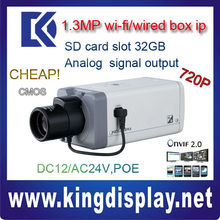IPC-HF3100 Wholesale Dahua IP camera CMOS 720P box camera poe onvif dual power supply