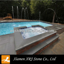 Natural Bullnose Bluestone Swimming Pool Coping stones