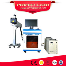 30W 60W CO2 laser marking Date Coding printing machine for PET bottle printer\plastic parts