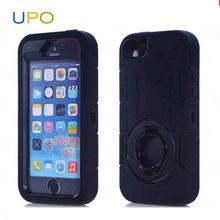 [UPO] Durable Hybrid pc+ silicon shock proof mobile phone case for iphone 5s