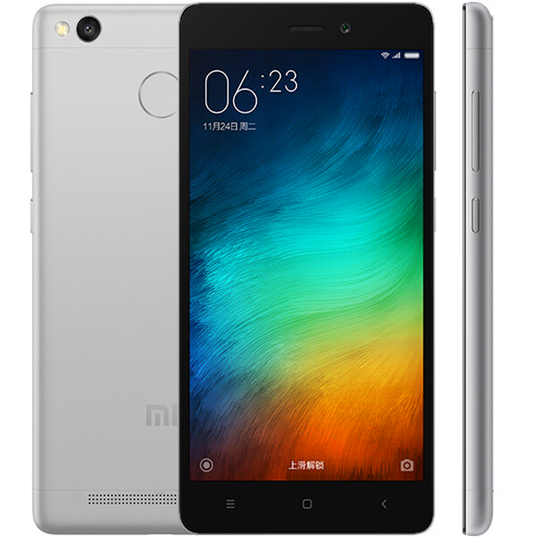 "New Arrival Original Xiaomi Redmi 3S Mobile Phone 2GB RAM 16GB ROM Snapdragon 430 Octa Core 5"" Fingerprint ID MIUI 7"