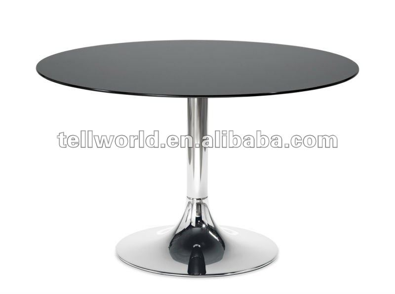 Round shape quality marble kitchen dining table