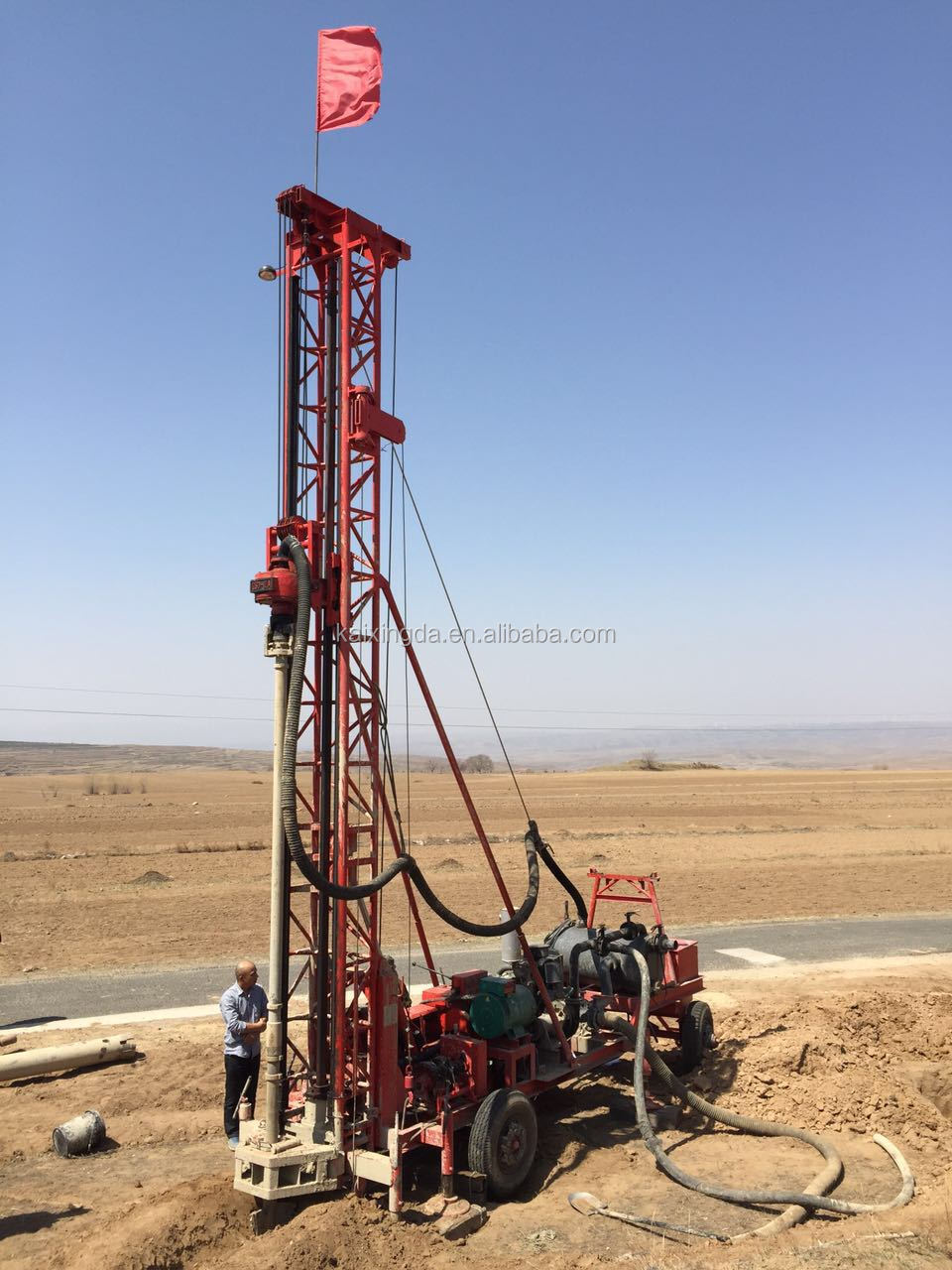 KXD-III truck mounted type water well drill rig
