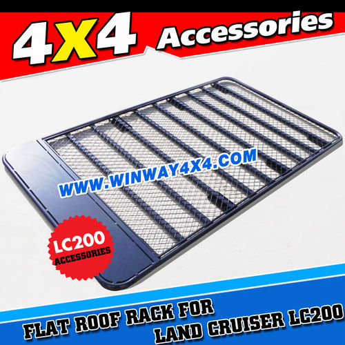 FLAT ROOF RACKS FOR TOYOTA LAND CRUISER PRADO FJ150 2009 2010 2011 2012 2013 2014