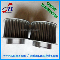 Customized Steel fabrication transmission timing belt pulley