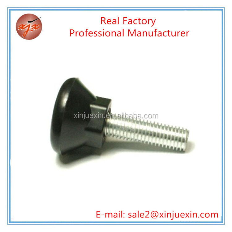 Manufacturer supply stainless steel bolt with plastic square pipe plug