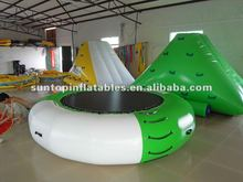 inflatable pvc water trampoline sports games