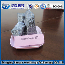 Silicon metal grade 553 used for alloy