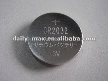 CR2032 Button Lithium Battery