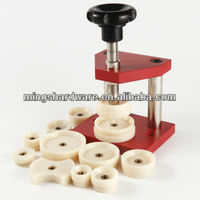 Watch Tool Crystal Press and Case Back Press with Nylon Dies