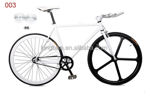 bicycle oem 700c steel china heavy bikes frame 50mm rims KT flip flop hub fix gear bike