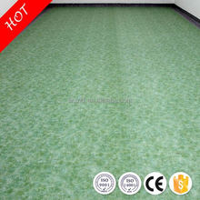 Anti-skidding safe customized pvc foamed flooring for indoor