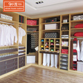 New style customized modern bedroom furniture storage walkin closet