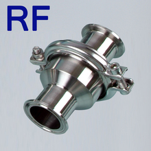 RF Stainless Steel Clamped Sanitary Flap Check Valve For Food Grade